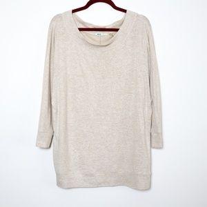 Kimchi Blue | UO Oversized Fleece Knit Tee